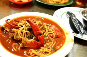 Mie Aceh with Kepiting is the best *ngiler*